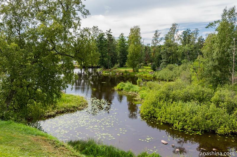 Река Вуокса, Приозерск
