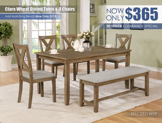 Clara Wheat Dining Clearance Special_2321WT[1]