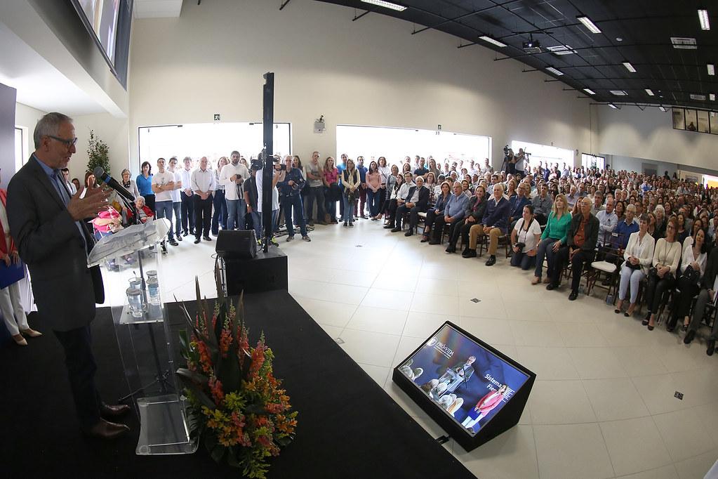 Pró-Vida entrega Centro de Educação Profissional  Dr.Celso Charuri