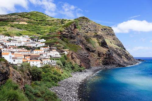 Corvo coastline - Azores Islands