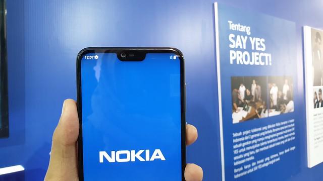 Notch Nokia 6.1 Plus (Liputan6.com/ Agustin Setyo W)