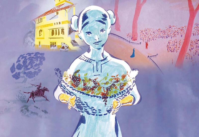 大人のためのグリム童話 手をなくした少女(原題 La Jeune fille sans mains )