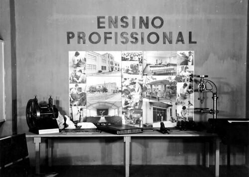 Projetos para o ensino profissional na Exposição Nacional do Estado Novo