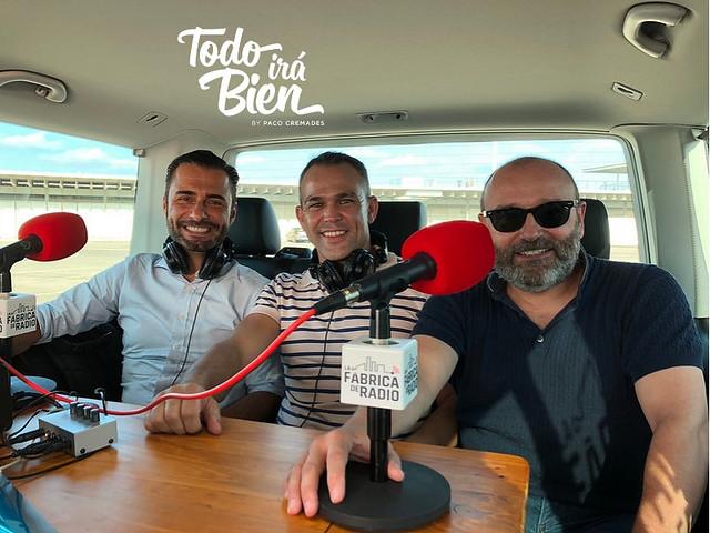 foto 2018 09 13 Rafa Serra Iván Talens Paco Cremades La Fábrica de Radio Musicóctel