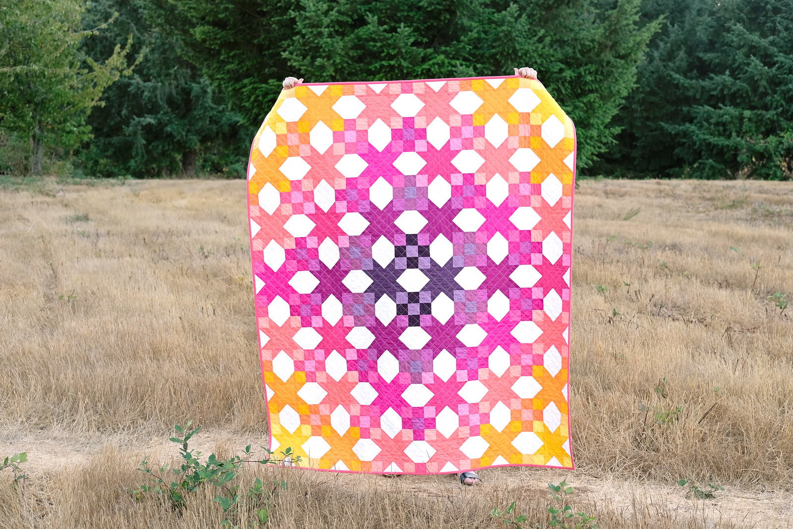 Sunrise Katie Quilt - Kitchen Table Quilting