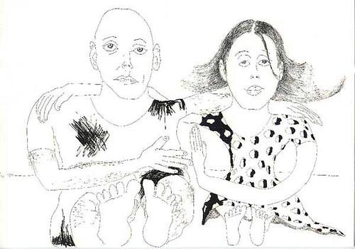 Couple Drawings Man Woman Drawing Love Relationship Huggin Flickr