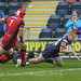 Cameron Cowell scores in the corner for Doncaster-8739