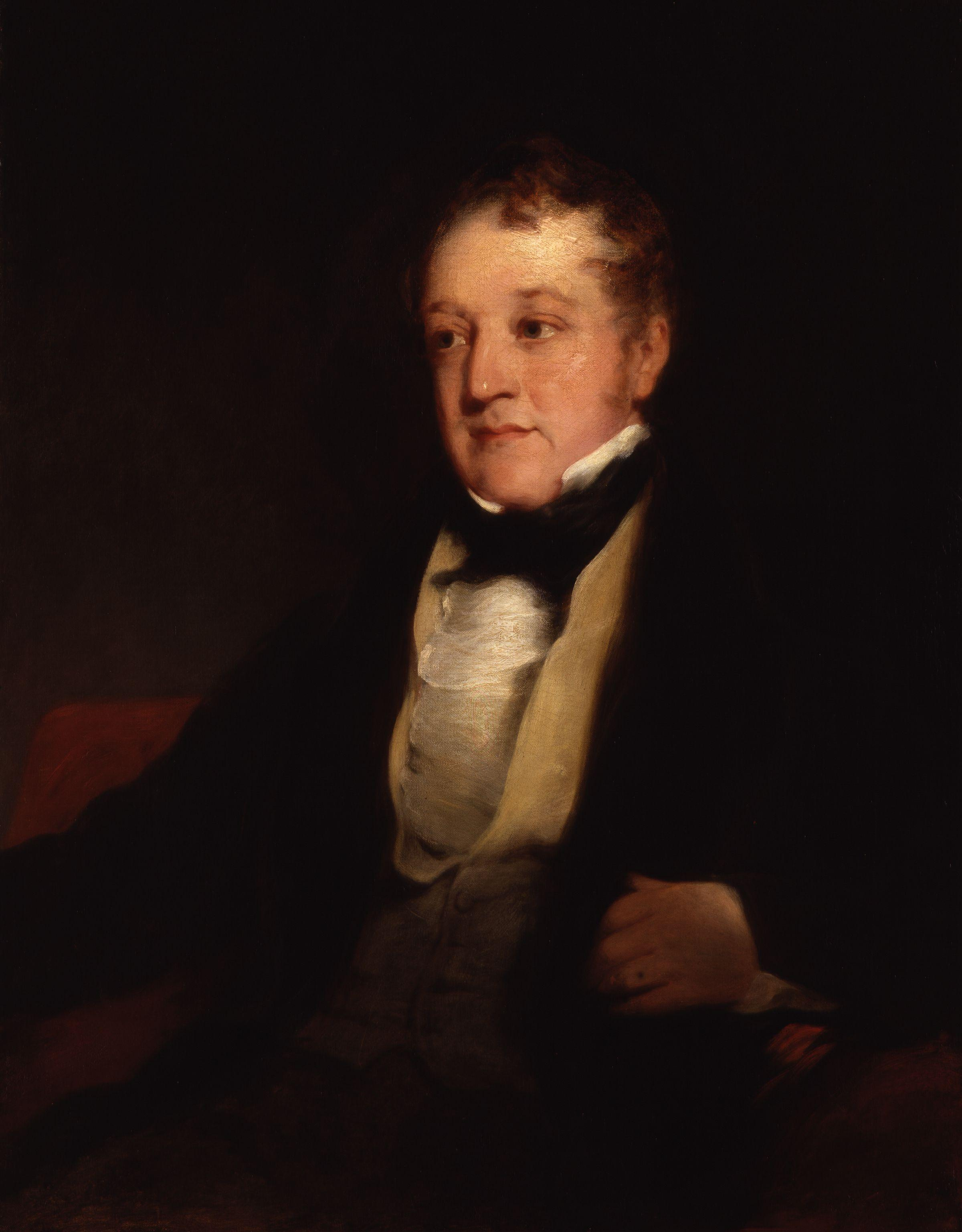 Portrait of William Huskisson by Richard Rothwell