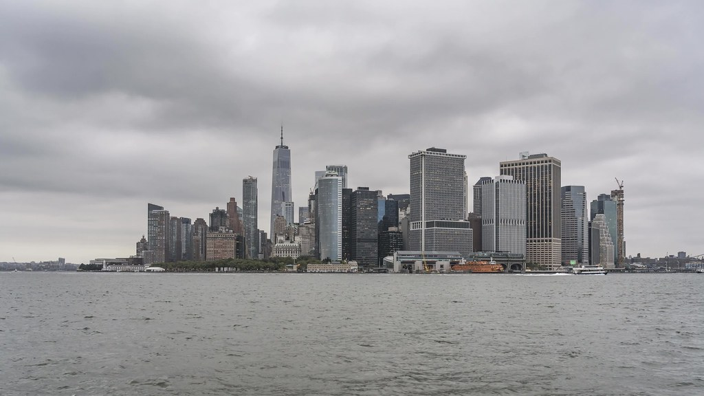 Governors Island Skyline Day to Night TL UHD with music