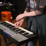 Wed, 12/09/2018 - 10:26am - Let's Eat Grandma Live in Studio A, 9/12/2018 Photographer: Jake Lee