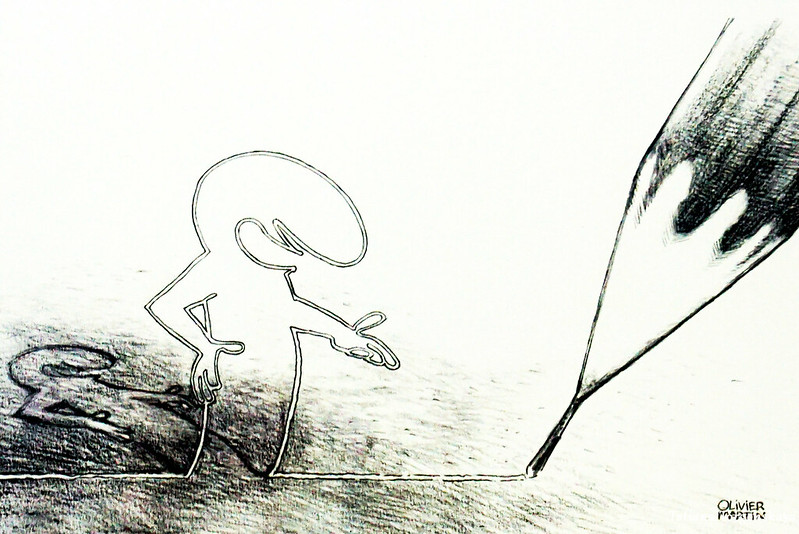 Рисунок Оливера Мартина