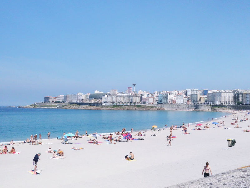 La Coruna beaches