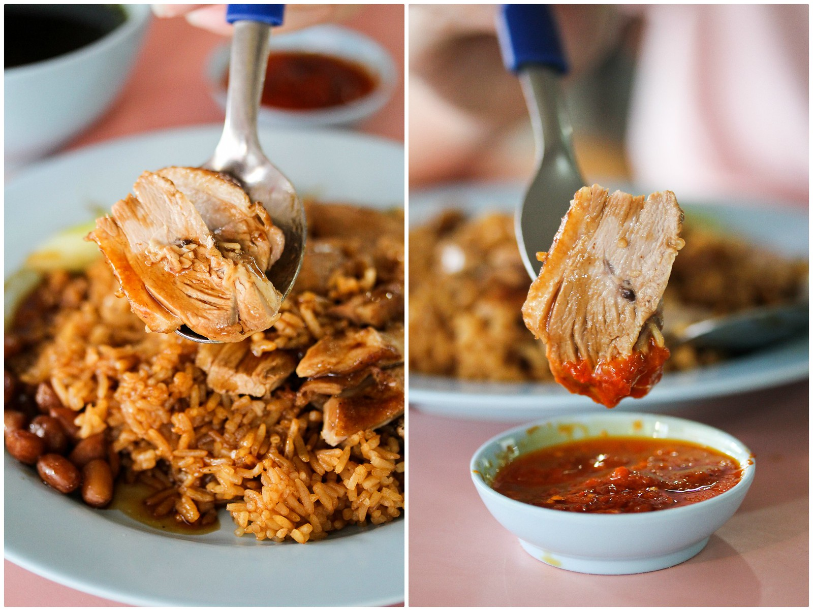 Ban Chuan Braised Duck Rice collage 1