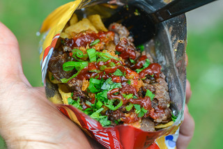 Beef Bulgogi Walking Tacos