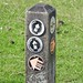 Footpath Markers, Keeper's Pond, Abergavenny Road, Blorenge Mountain, Monmouthshire 29 August 2018