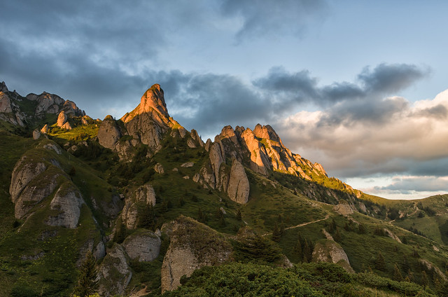 Sunset in Ciucas Mountains, Pentax K-5 II S, smc PENTAX-DA 15mm F4 ED AL Limited