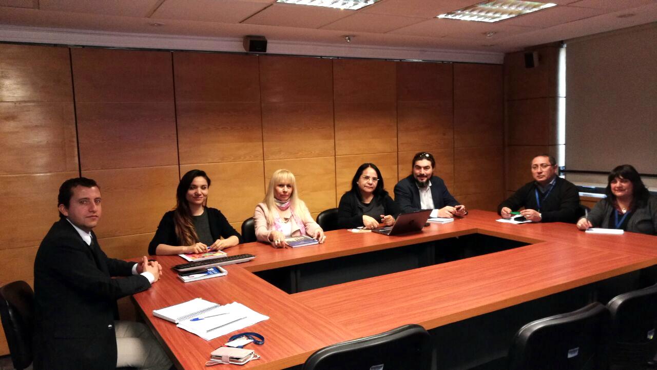 Reunión ANFINE con Dpto. Gestión y Desarrollo de las Personas por Bandas Salariales – 05 Sept. 2018