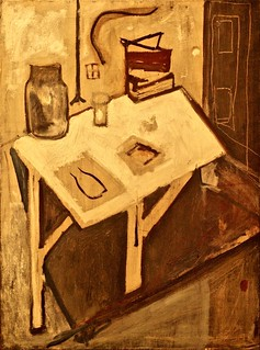 Still Life Blue (1932 - 1933) - Maria Helena Vieira da Silva (1908-1992)
