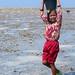 Sama Dilaut Girl Collecting Shellfish, Sampela, Indonesia