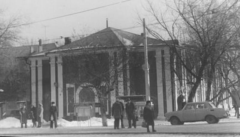 храм, переделанный в кожвендиспансер-1983 год