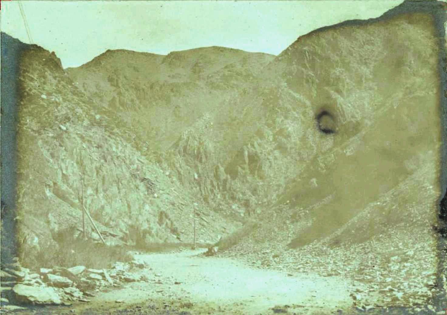Арганатинскская сопка. Семиреченская область