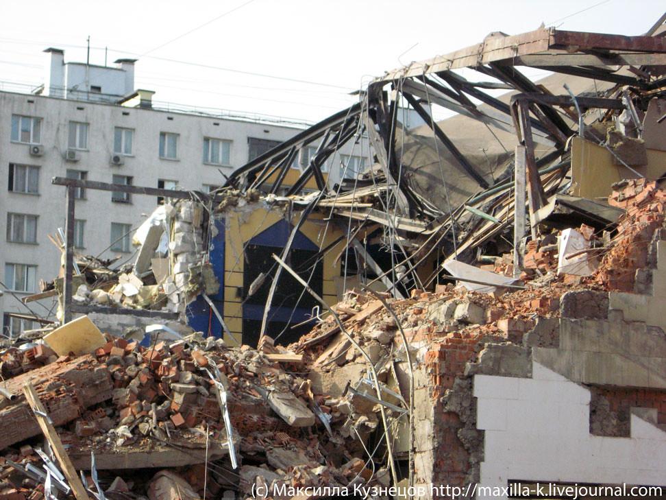 Развалины Праги