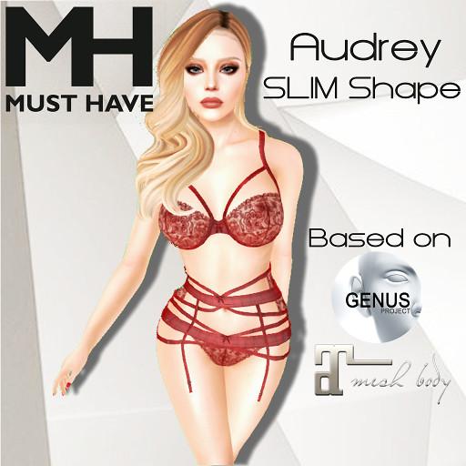 MUST HAVE - Audrey SLIM Shape (Genus Bento)
