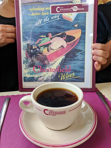 coffee @ Cutchogue Diner