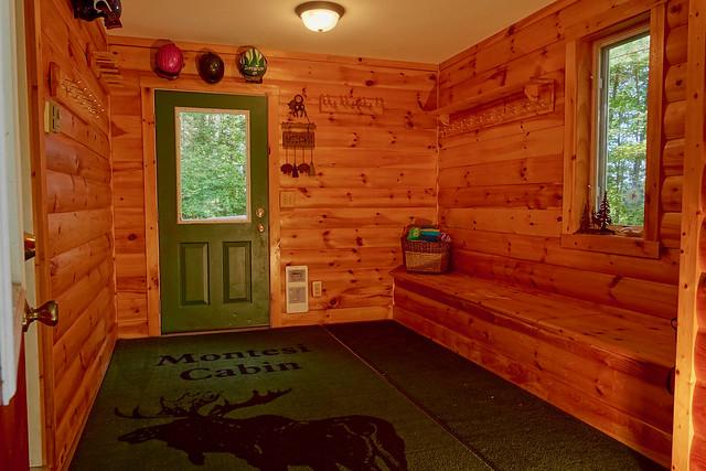 Mud room/entry way