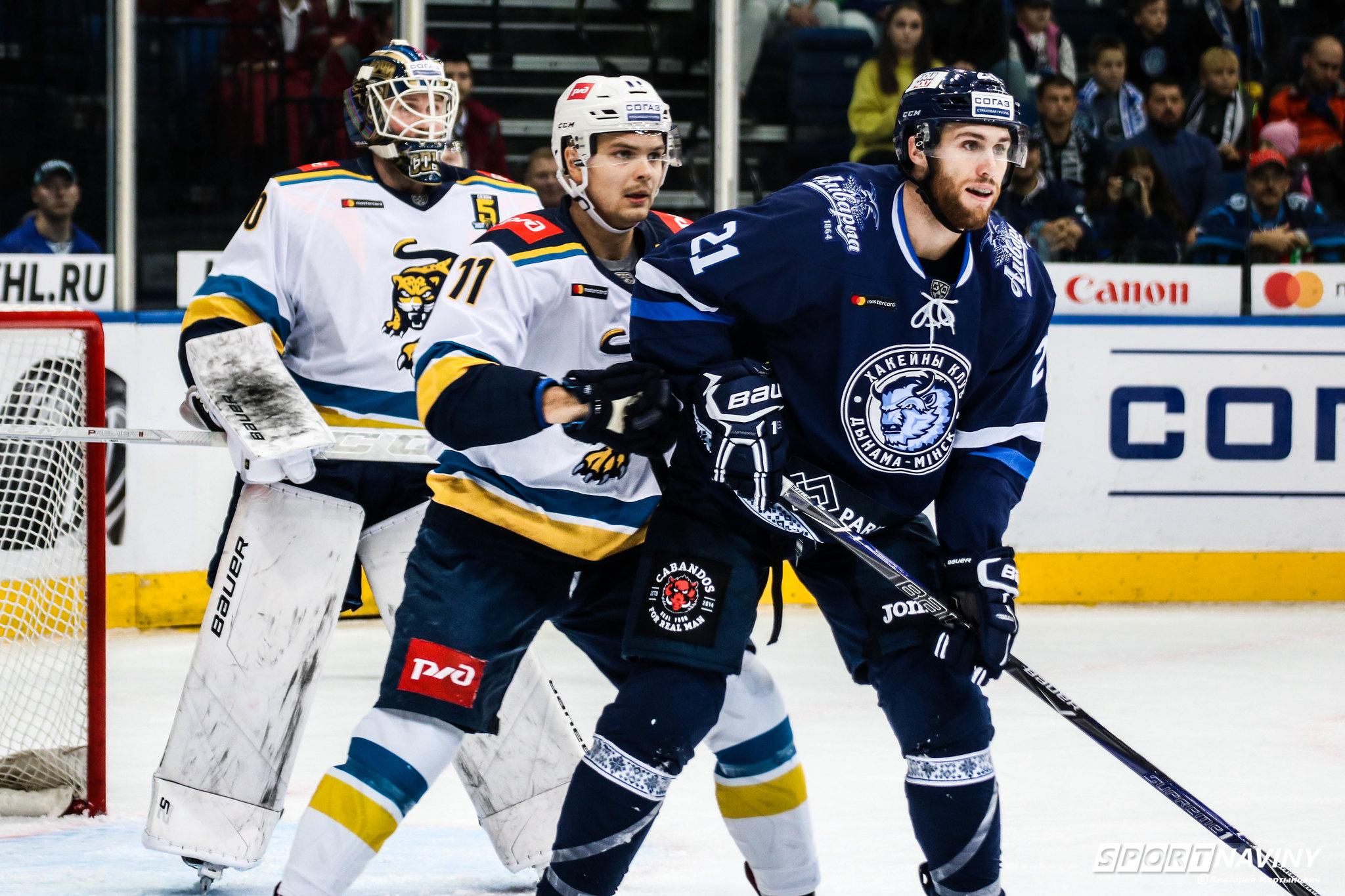 HC Dinamo-Minsk 1:3 HC Sochi. 14/09/2018