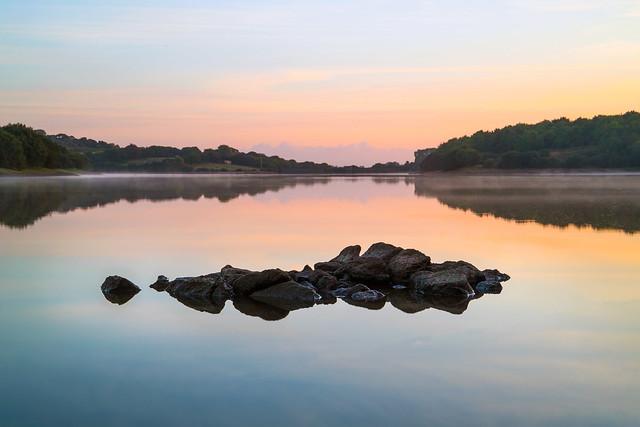 Pastel Sunrise, Argal Lake, Canon EOS 6D MARK II, Canon EF 24-105mm f/3.5-5.6 IS STM