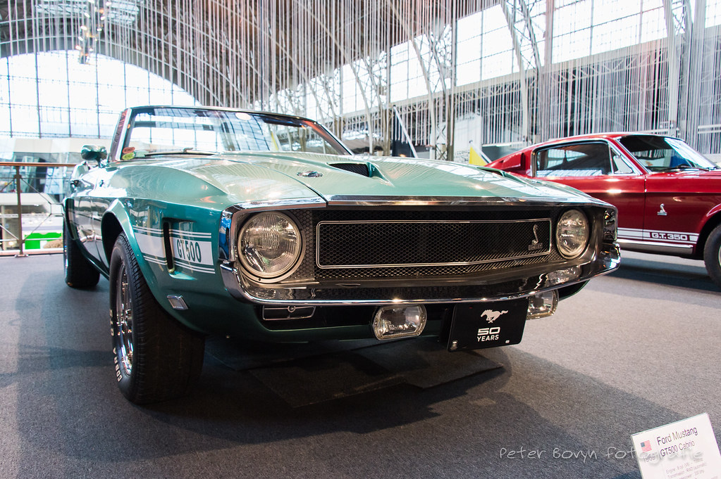 shelby ford mustang gt 500 convertible - 1969   1st generati…   flickr