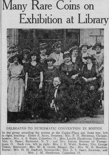1921 Boston ANA ladies photo