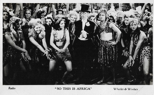 Bert Wheeler and Robert Woolsey in So This is Africa (1933)