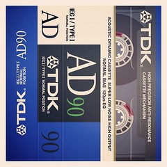 Cassettes: TDK Acoustic Dynamic AD90