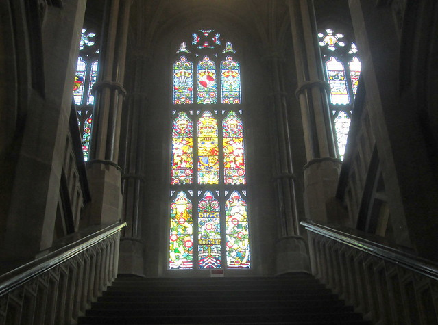 Rochdale Town Hall, Stained Glass