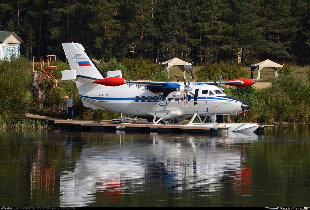 Л-410УВП-Э20 # RF-67758 Россия, ВВС, Волжанка - Юрьевское, 1 сентября 2018
