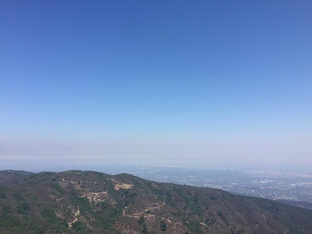 Smog covered South Bay