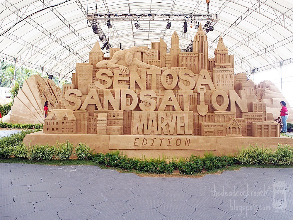 sentosa,sentosa sandsation 2018,singapore,siloso, siloso beach, jooheng, marvel,superheroes,iron man,thanos,hulk,hawkeye,black panther,black widow,captain marvel,captain america,ant man,medusa,doctor strange,thor,guardians of the galaxy