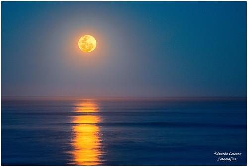 El mar y la luna