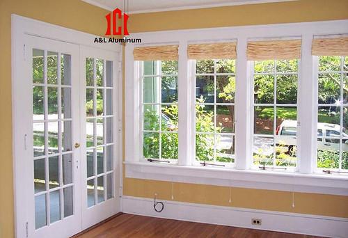 Aluminum doors and windows one
