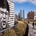 Big face on the High Line