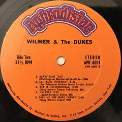 WILMER & THE DUKE:WILMER & THE DUKE(LABEL SIDE-B)