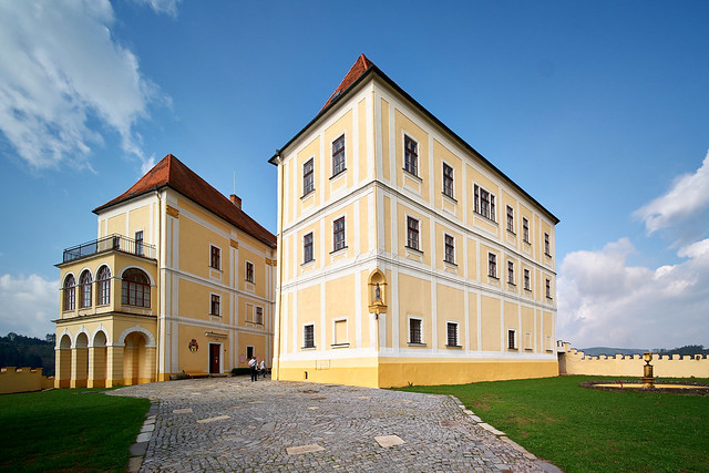 Schloss in Letovice (CZ)