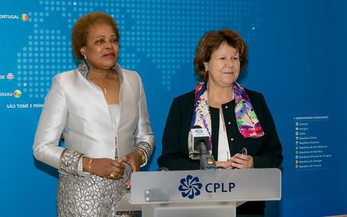 18.09. Secretária Executiva recebe cartas credenciais da Representante da OEI junto da CPLP