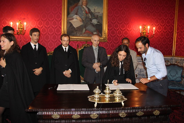 Tomada de posse Académica Start UC 2018/2019