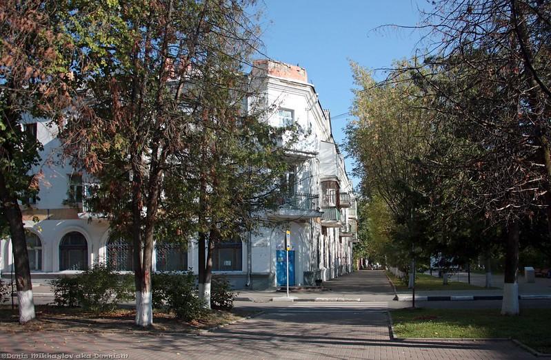 Фрязино, Институтская улица.