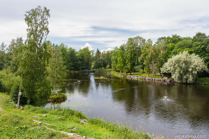 Река Вуокса между Старой и Новой крепостями, Приозерск