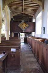 south aisle and Buxton pew