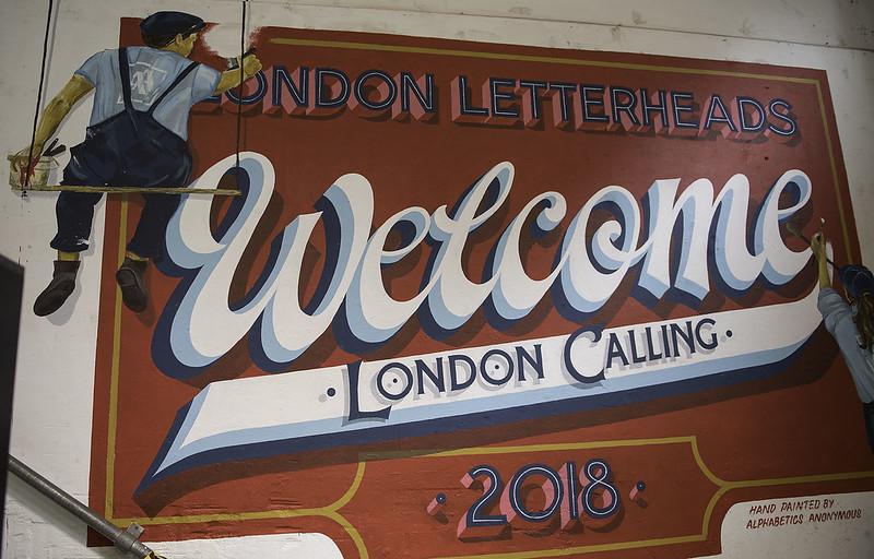 Letterheads 2018: London Calling